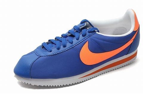 nike cortez bleu orange,chaussure nike cortez pas cher nike